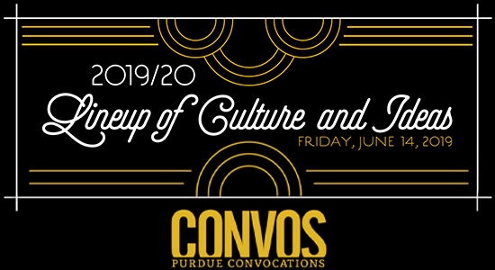 2019-2020 Lineup of Culture and Ideas Banner
